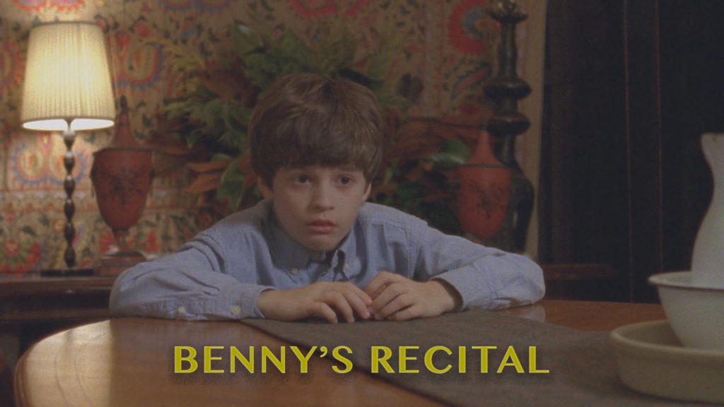 Bennys Recital short film